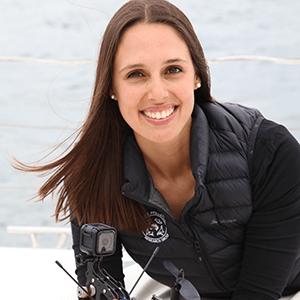 Study marine biology like Vanessa Pirotta, Marine biologist/Marine scientist