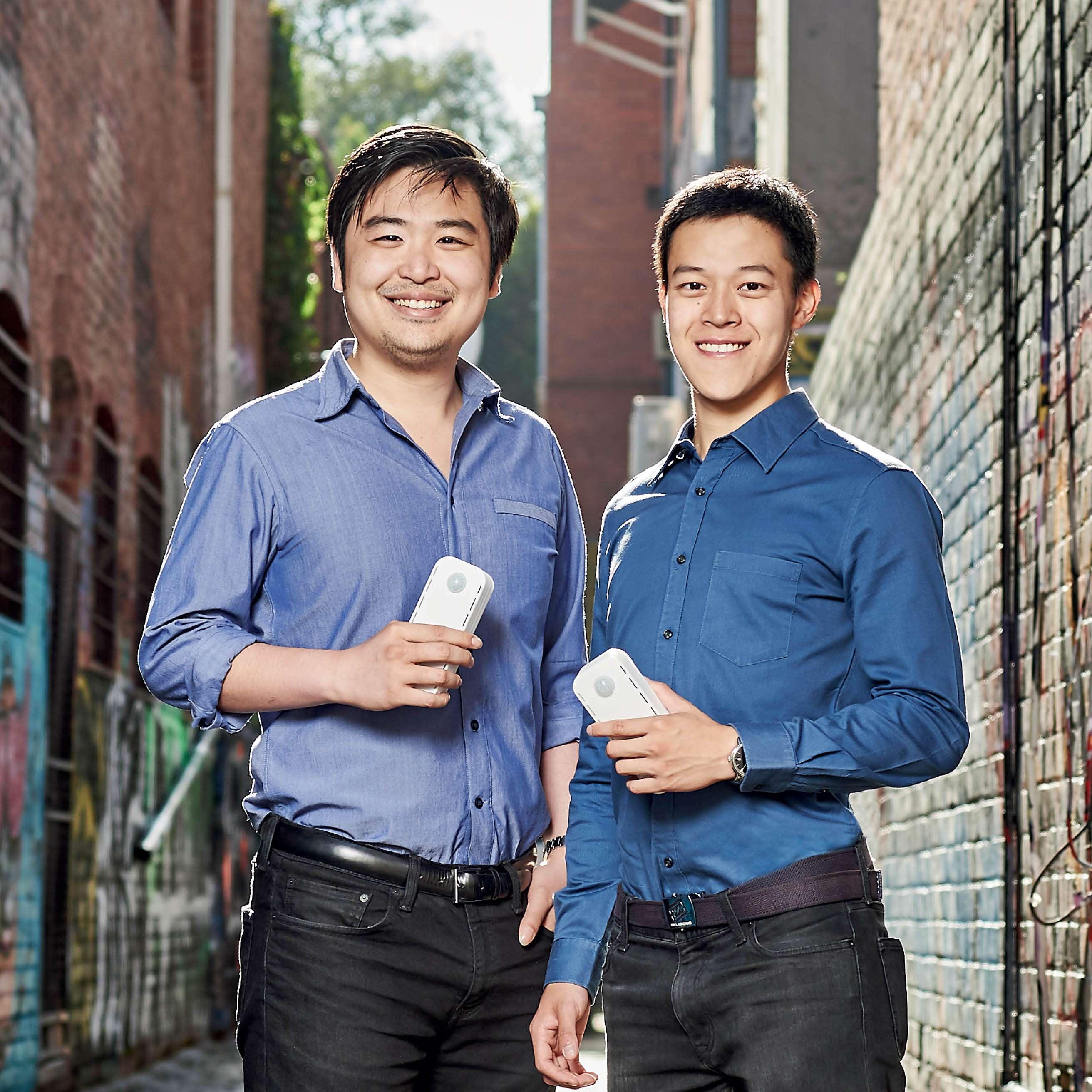 David Mah and Nigel Ang