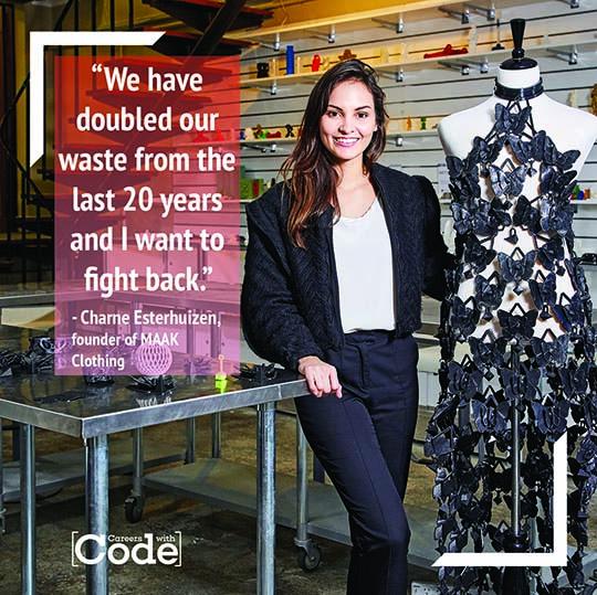 Charne Esterhuizen Maak Clothing fashion designer
