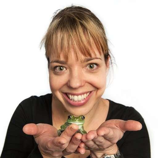Jodi Rowley frogs FrogID
