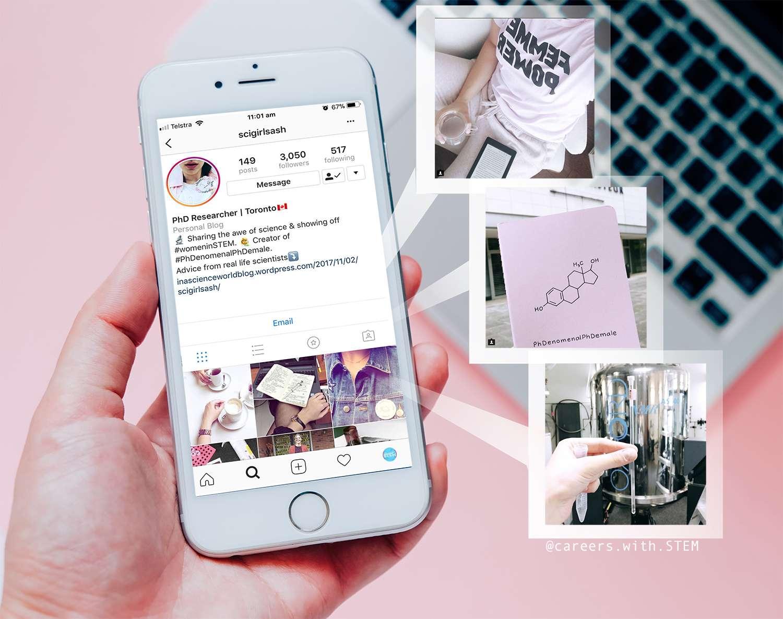 scigirlsashwebsite instagram account