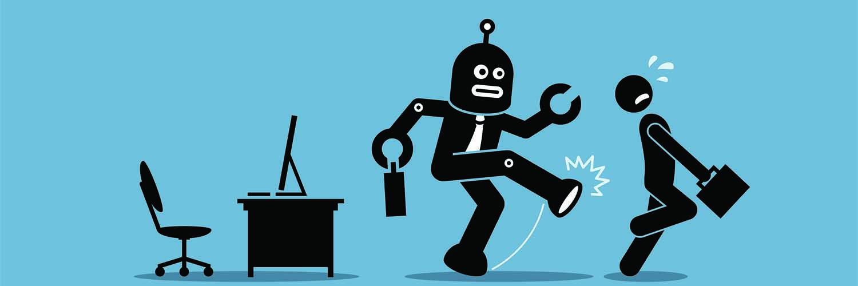 job stealing robots