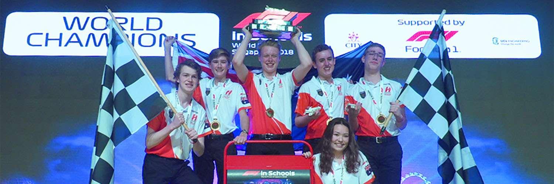 F1 in schools 2018 winners
