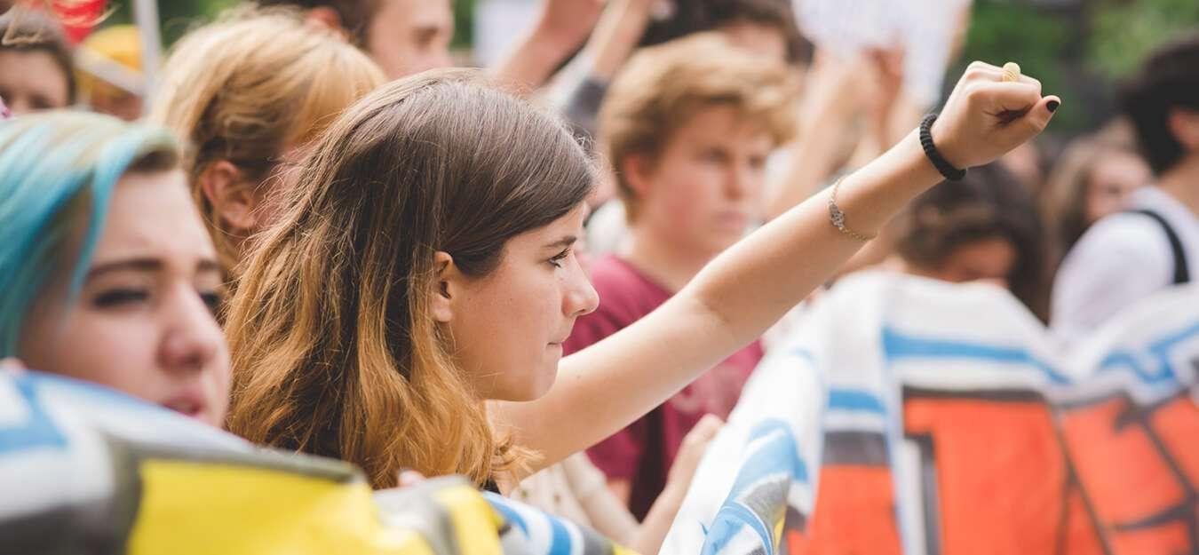 Students climate strike in Australia