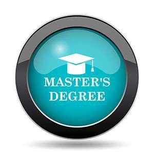 Master's degree button