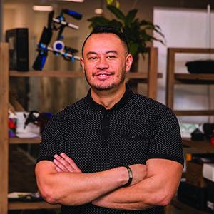 Maori animation artist and startup founder