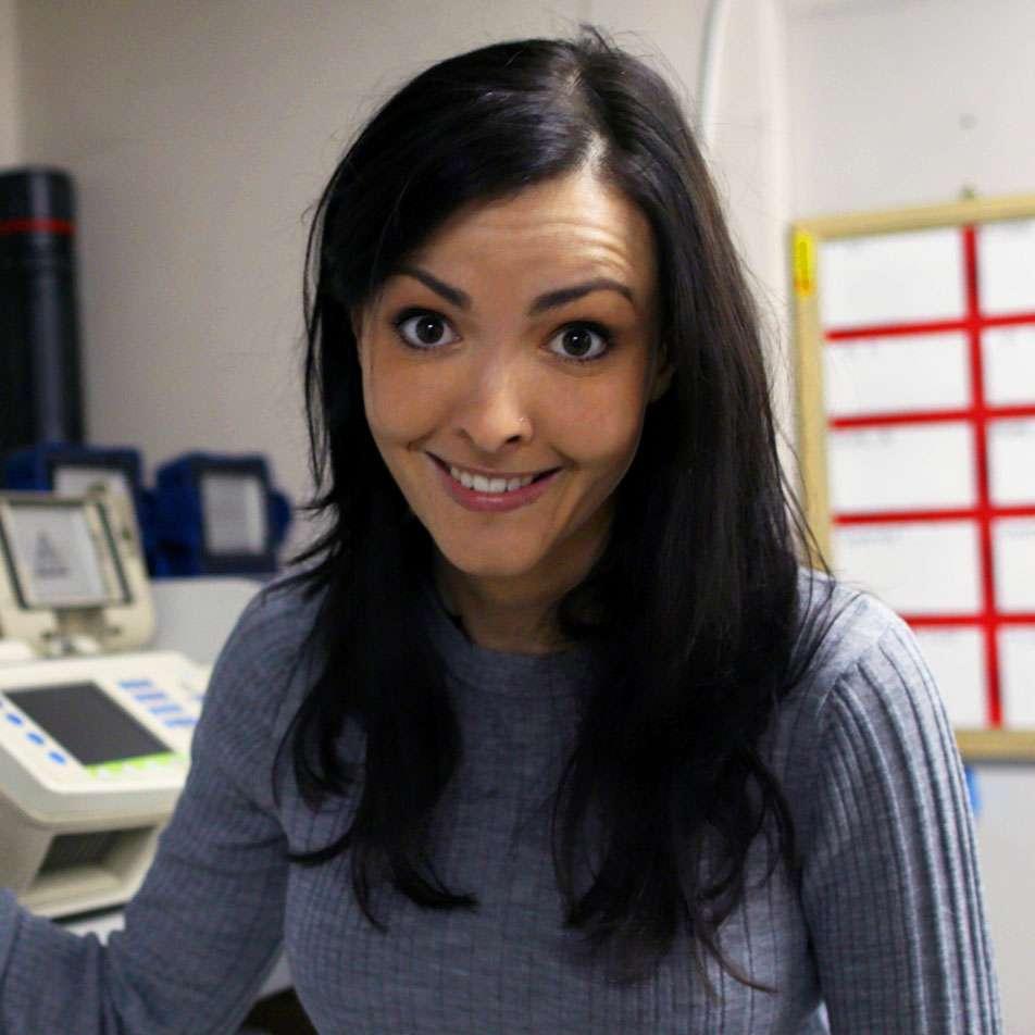Vanessa Hill, host of BrainCraft
