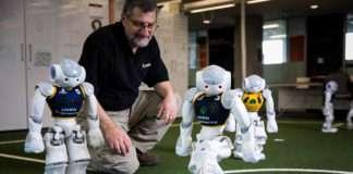 robot soccer UNSW