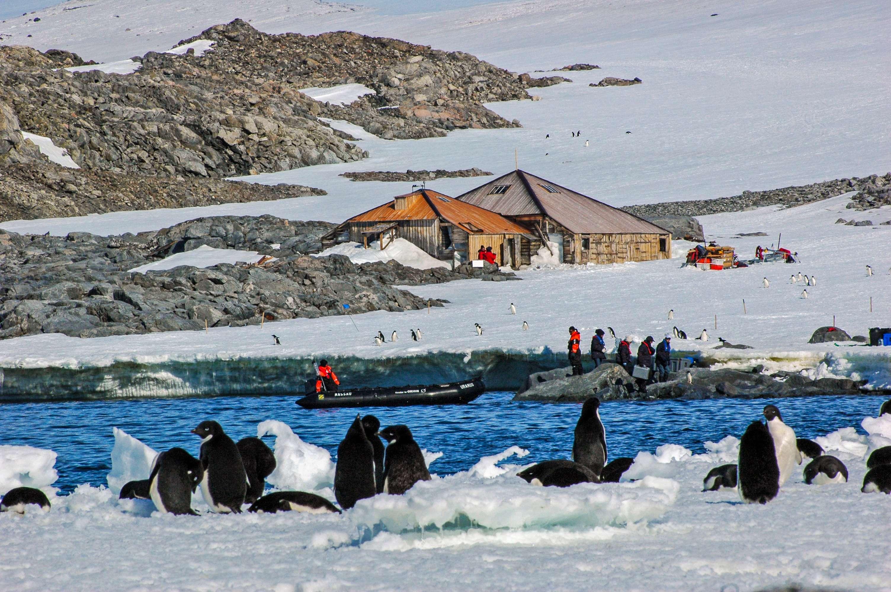 Mawson's Huts Antarctica