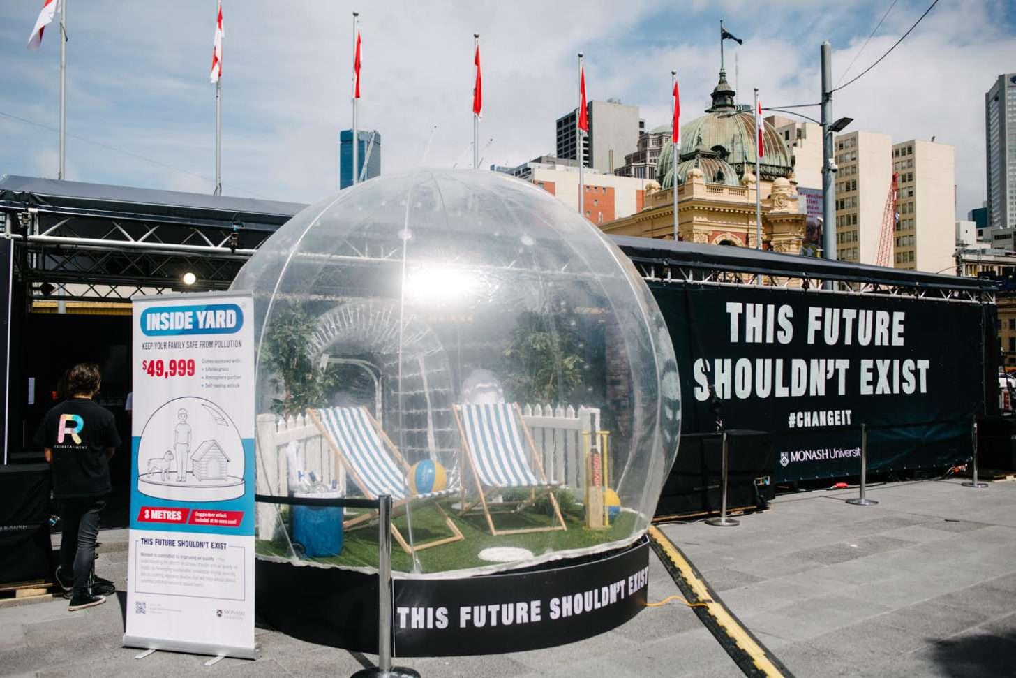 Inside yard monash this future shouldn't exist dystopian exhibition