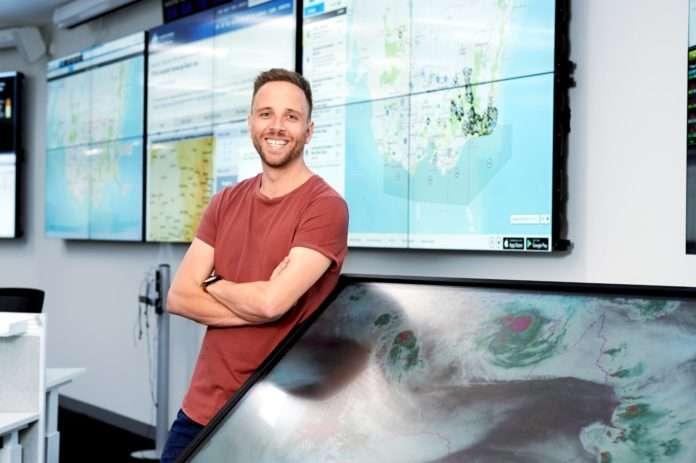 Adam Morgan Careers with STEM Bureau of Meteorology maths