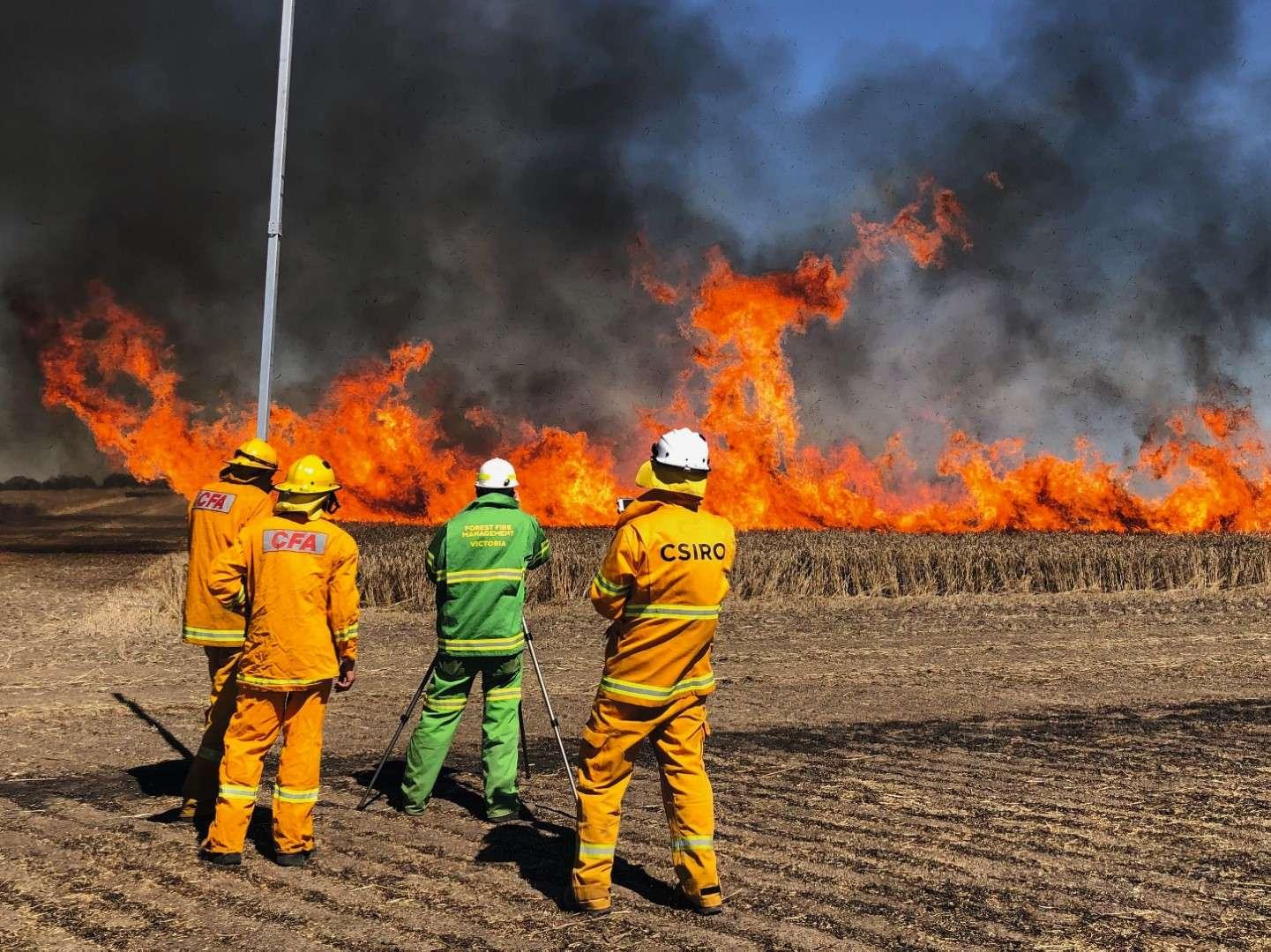 CFA CSIRO fire research