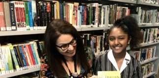 Preethika Mathan and Ms Rachele Rugiero Santa Sabina College UNSW Bragg Student Prize