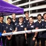 First student rocket launch Queensland