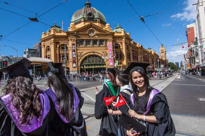 RMIT University graduation