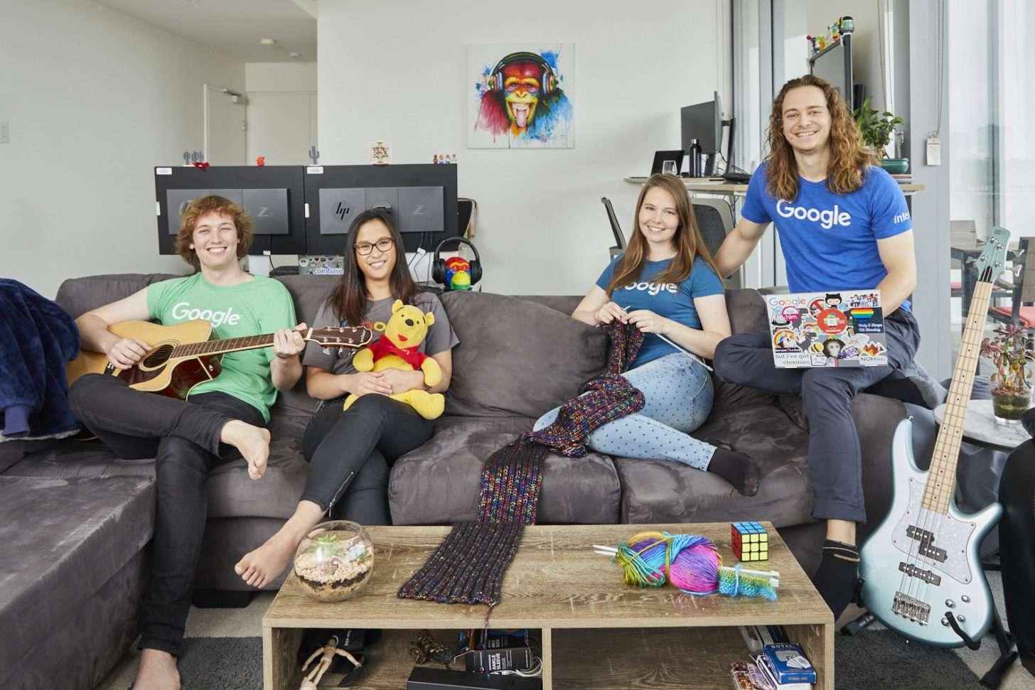 Google Careers with STEM intern roommates