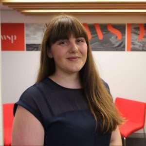 Breanna Clayton, Structure Engineer.