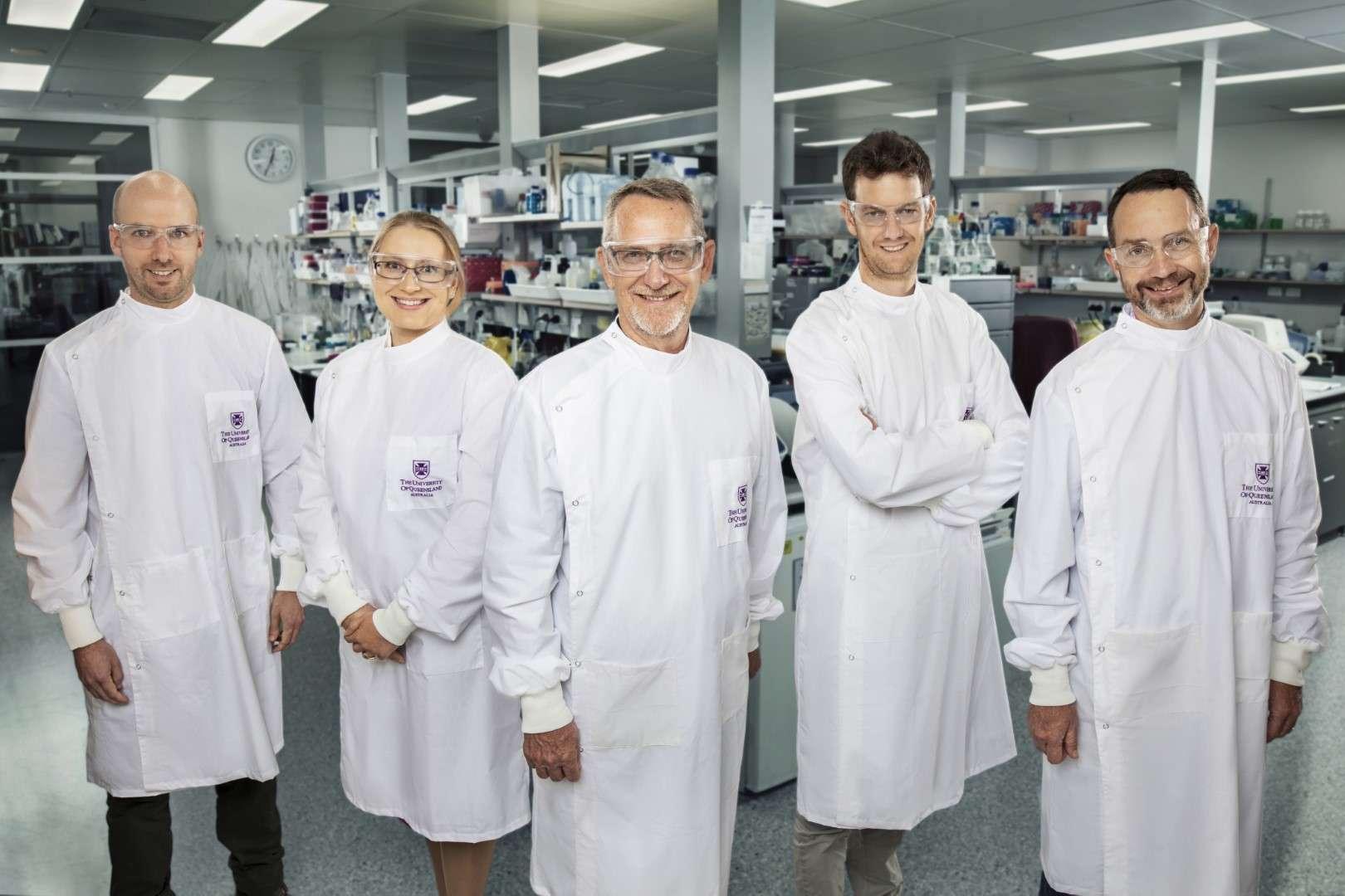 The University of Queensland COVID-19 vaccine team.
