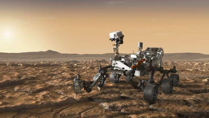 Mars Perserverance Rover