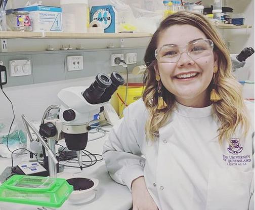Samantha Nixon 2020 Queensland Women in STEM Prize winner