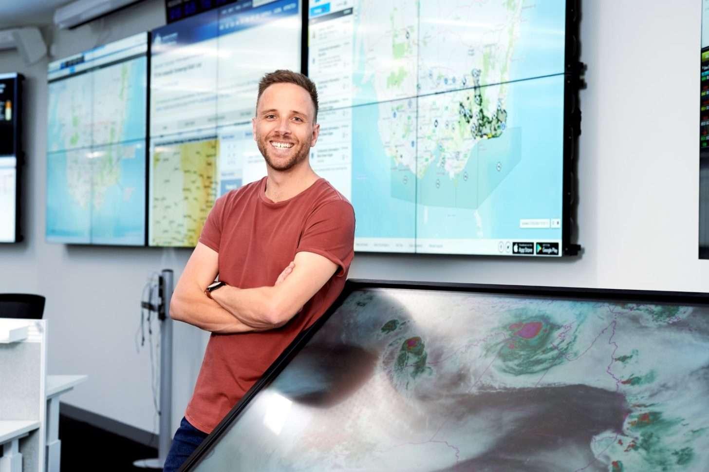 Maths jobs - weather expert