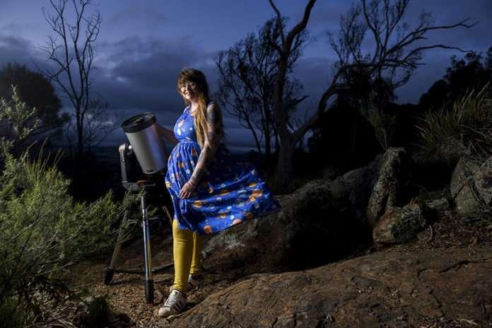 Karlie Noon - astronomy ambassador