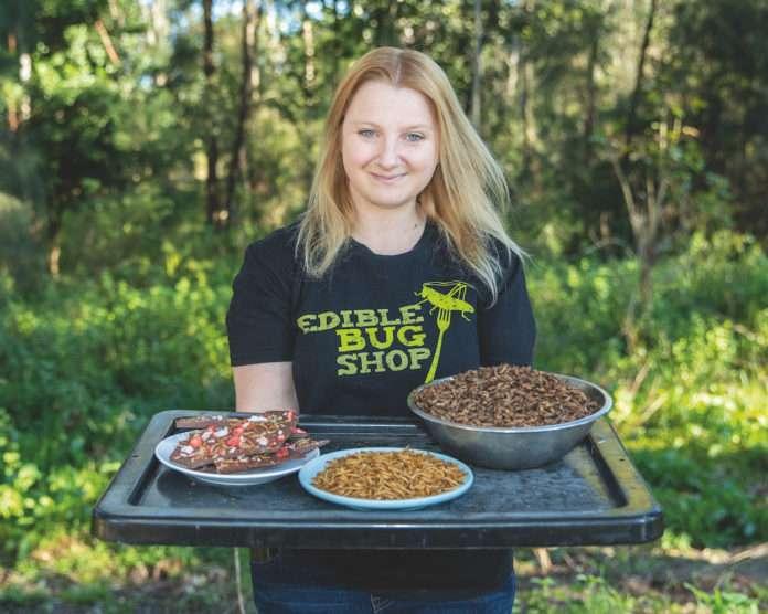 Skye Blackburn - Entomologist and food scientist