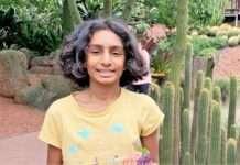 Image provided: Vani Vasan, Year 7 student at Kardinia International College, Victoria