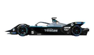 Mercedes Benz EQ formula with Modis