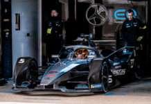 Stoffel Vandoorne (Mercedes-Benz EQ Formula E Team) during the 2020 ABB Formula E Marrakesh E-Prix in Marrakesh, Morocco 28/02/2020-01/03/2020