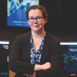 Jennifer Medbury - career in intelligence